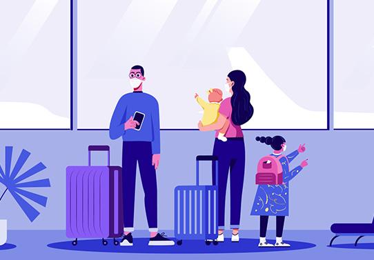 Embarque de nuestros vuelos LATAM